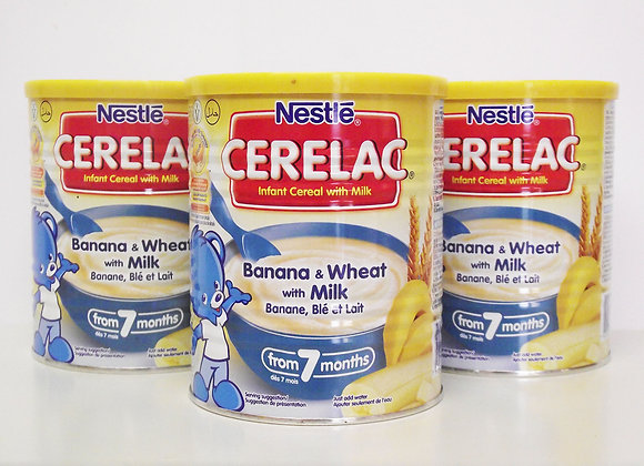 Nestlé Cerelac Banana & Wheat with Milk
