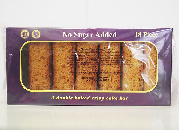 KCB Cake Rusk 18 Piece (Sugar Free)