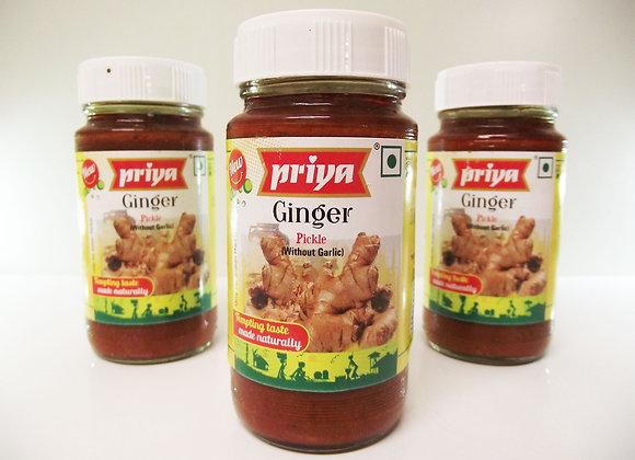 Priya Ginger Pickle (without Garlic)