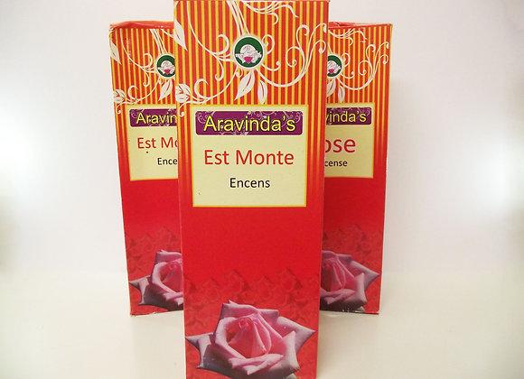 Aravinda's Est Monte Encens (Rose)