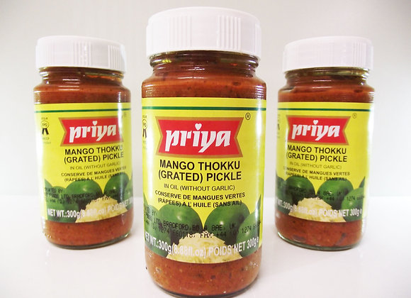 Priya Mango Thokku (Grated) Pickle