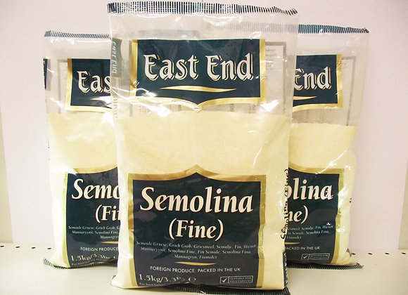 East End Semolina (Fine) 1.5kg