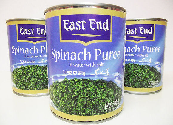 East End Spinach Puree (in Salted Water) 795g