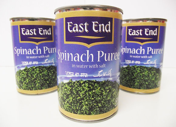 East End Spinach Puree (in Salted Water) 395g