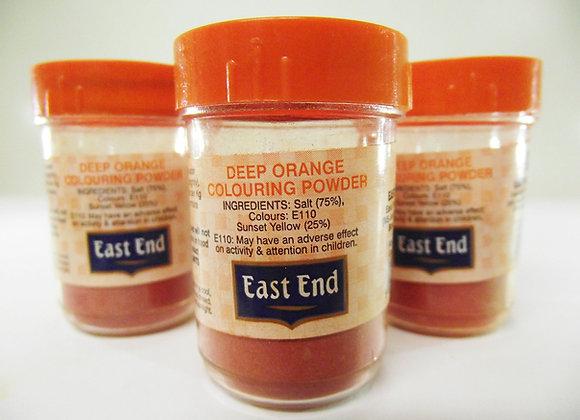 East End Orange Colouring Powder