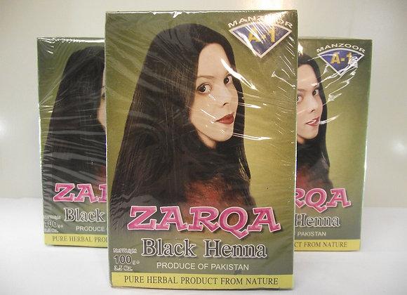 Zarqa Black Henna