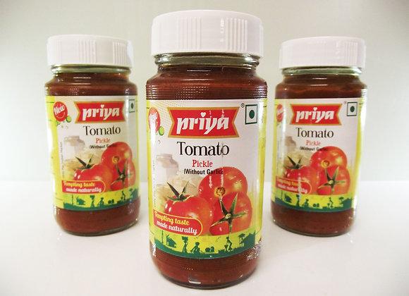 Priya Tomato Pickle (without Garlic)