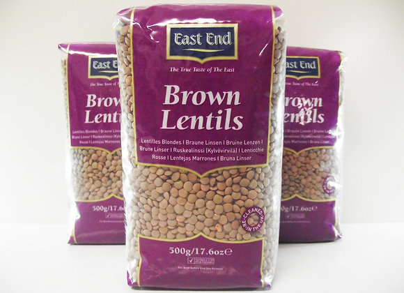 East End Brown Lentils 500g