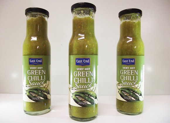 East End Very Hot Green Chilli Sauce