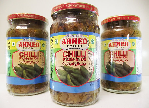 Ahmed Chilli (Pickle in Oil)