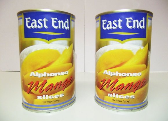 East End Alphonso Mango Slices (in Sugar Syrup) 425g