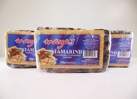 Maya's Tamarind Whole 200g