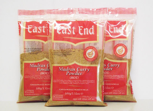 East End Madras Curry Powder (Hot) 100g