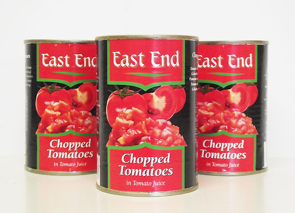 East End Chopped Tomatoes (in Tomato Juice)
