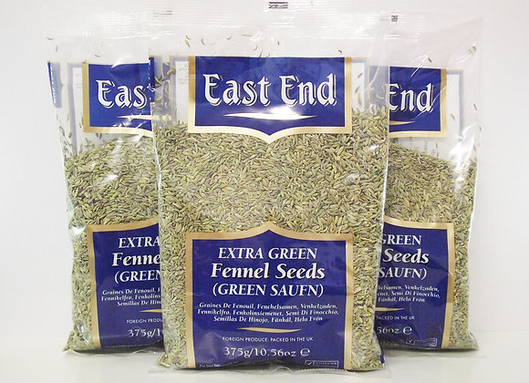 East End Fennel Seeds (green saunf) 375g