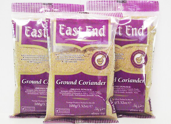 East End Ground Coriander 100g