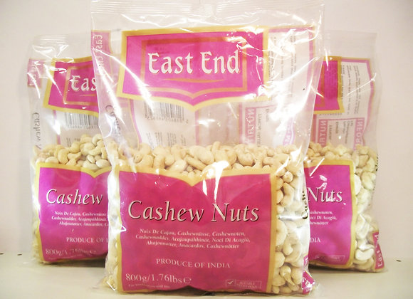 East End Cashew Nuts 800g
