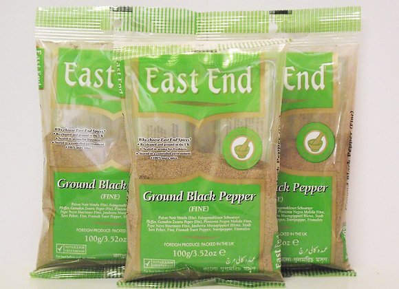 East End Ground Black Pepper (Fine) 400g