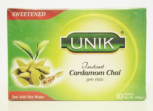 Unik Cardamon Tea Sweetened Pre Mix (10 sachets)