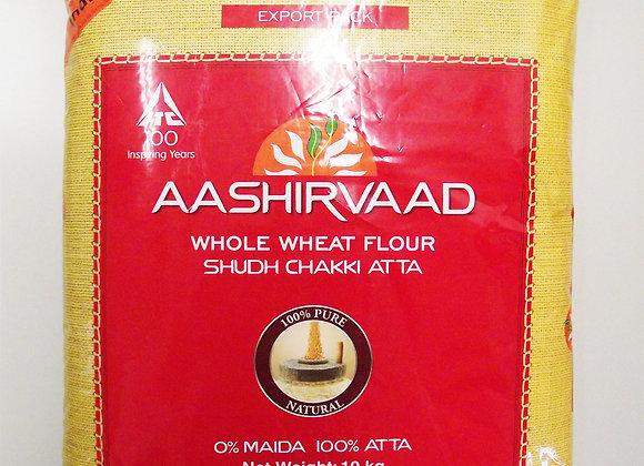 Aashirvaad Chakki Atta (Wholewheat) 10 Kilo