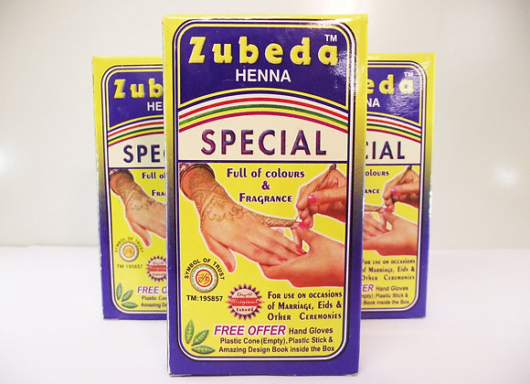 Zubeda Henna