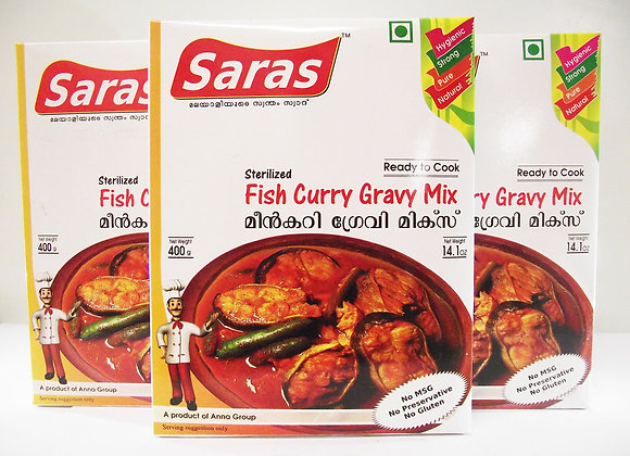 Saras Fish Curry Gravy Mix