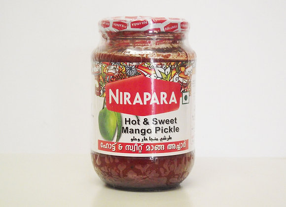 Nirapara Hot & Sweet Mango Pickle