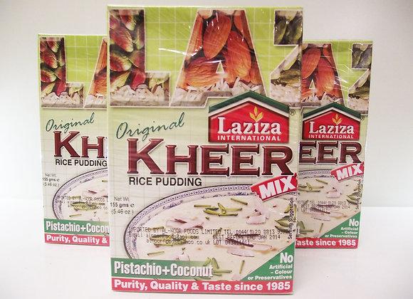 Laziza Kheer Rice Pudding Mix (Pistachio & Coconut)