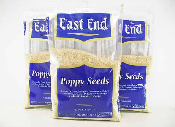 East End Poppy Seeds 300g