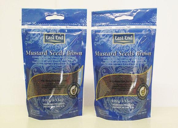 East End Mustard Seeds (Brown) 100g