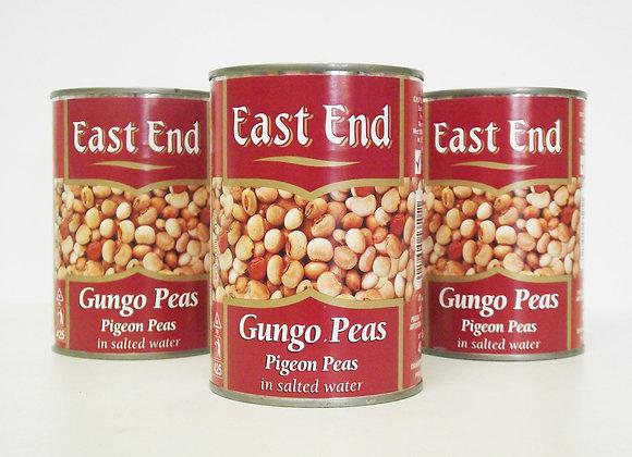 East End Gungo Peas (Pigeon Peas) (in Salted Water)