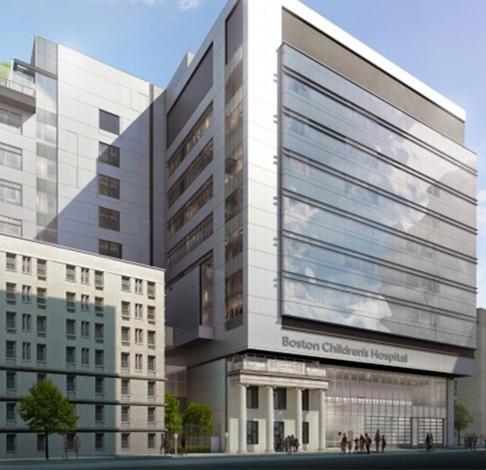 Boston Children's Hospital Hale Clinical Building