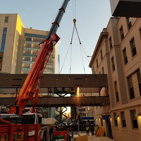 Boston Children's Hospital Bridge & Garage Project