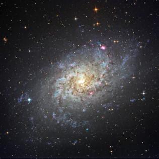 M33, galaxia del Triángulo 1