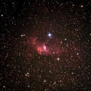 NGC 7635, nebulosa de la Burbuja