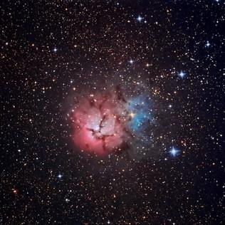 M20, nebulosa Trífida