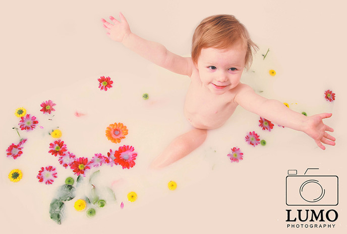 Milk Bath Photo Sessions - Across Essex and London