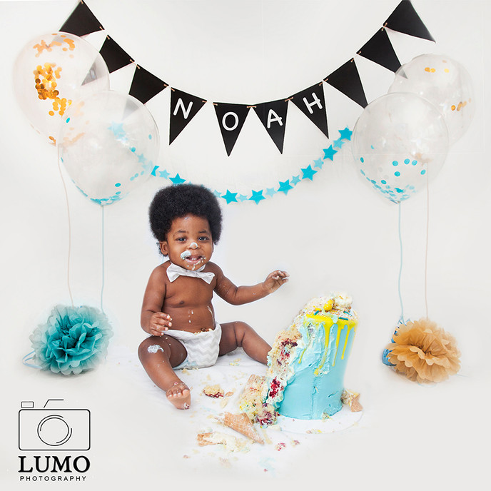 Cake Smash - Celebrate turning One at home across London and Essex