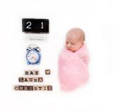 newborn baby wrap props