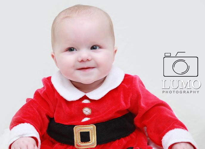 Xmas Baby Portrait Shoot, Essex
