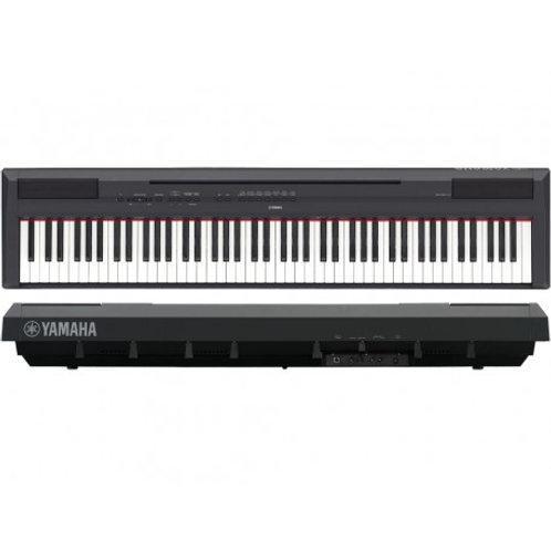 Piano digital Yamaha P125B con teclas pesadas