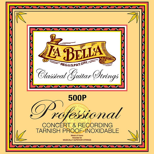 Encordado Guitarra Clasica La Bella 500P