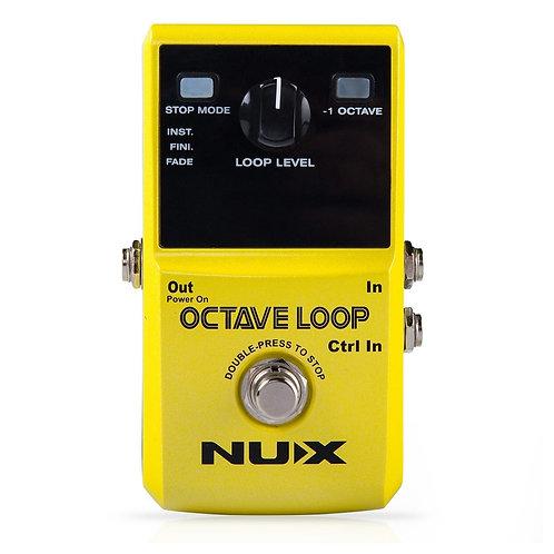 Pedal De Guitarra Nux Octave Loop