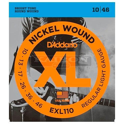 Encordado D'addario Exl110 Guitarra Electrica