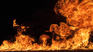 El mar en llamas