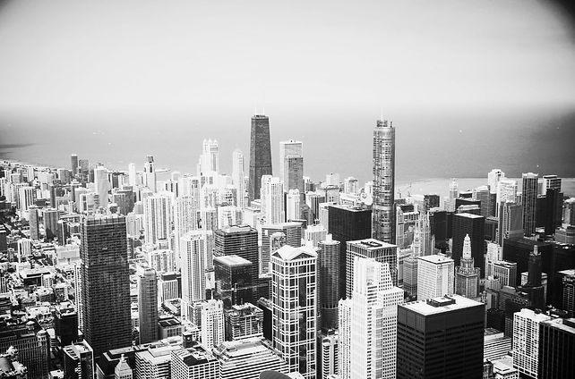 Modern Chicago Skyline 2015-9-8-9:22:22