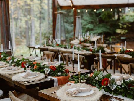 Intimate Fall Wedding in Girdwood, Alaska | Kirsten and Tucker