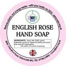 English Rose Hand Soap (300ml)