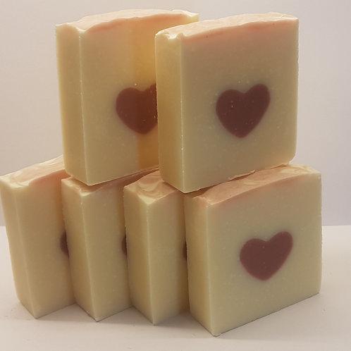 Hidden Heart Soap