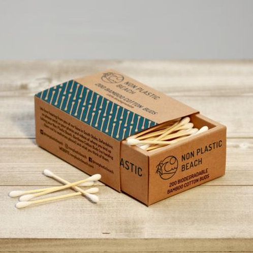 Bamboo Cotton Buds 200